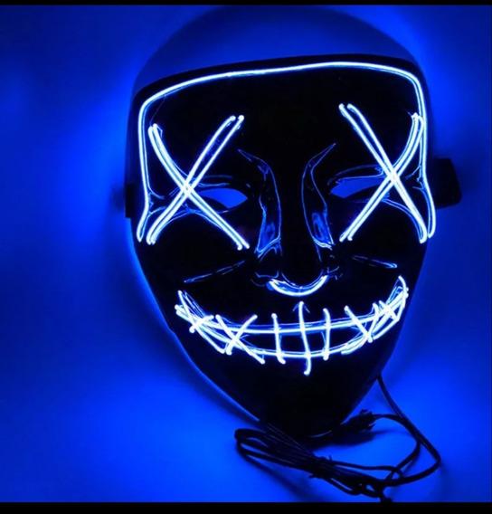 Mascara Luz Led La Purga.