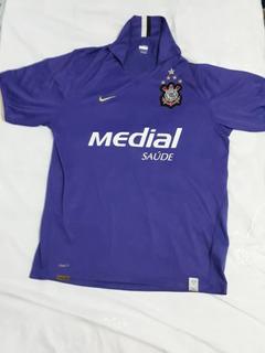 Camisa Nike Corinthians Iii Roxa 2008 Original