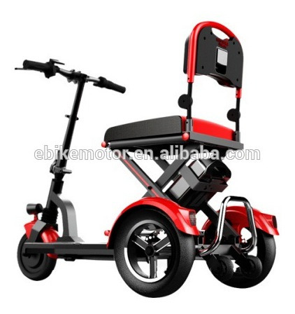 Scooter De Movilidad Eléctrica De 3 Ruedas