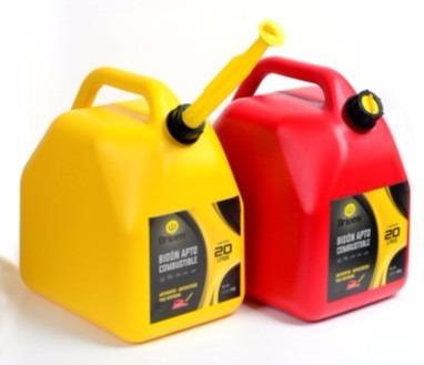 Imagen 1 de 7 de Bidon Nafta Combustible Diesel 20 Litros Auto Moto Nautico