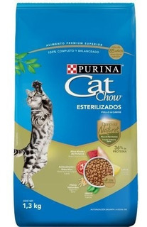 Alimento Para Gatos Castrados Defense Nature X 1.3kg Hc.