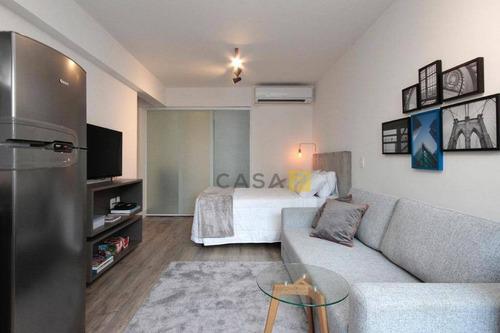 Studio À Venda, 30 M² Por R$ 700.000,00 - Vila Olímpia - São Paulo/sp - St0001