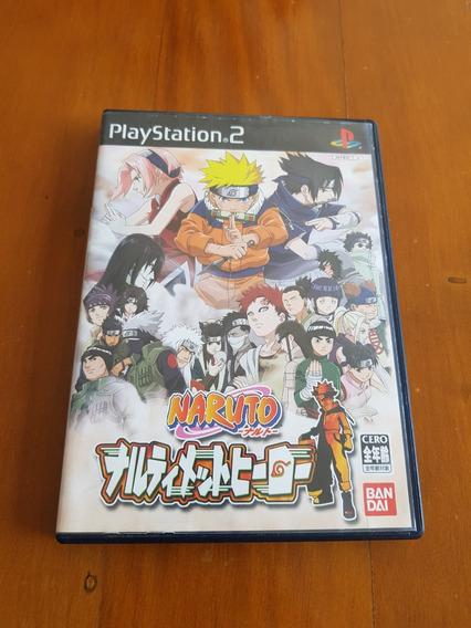 Naruto Narutimate Hero (naruto Ultimate Ninja) Ps2 Japones