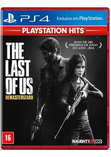 Jogo The Last Of Us Remasterizado Playstation Hits - Ps4