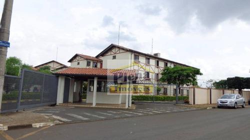 Imagem 1 de 6 de Apartamento Residencial À Venda, Jardim João Paulo Ii, Sumaré. - Ap0597
