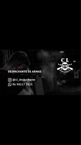 Despachante De Armas E Instrutor De Tiro