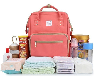 Mochila Bolso Maternal Himawari 100% Original Envío Gratis