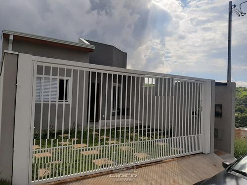Casa Nova Térrea Vila Verde Bragança Paulista - Ca0750-1