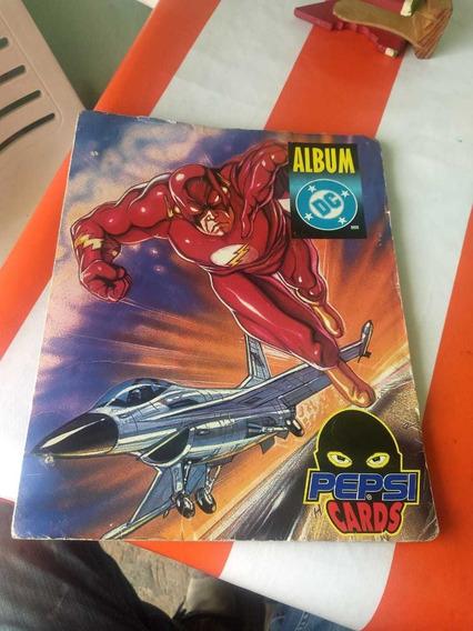 Album Pepsi Cards Dc 1995 Originales, En Buen Estado