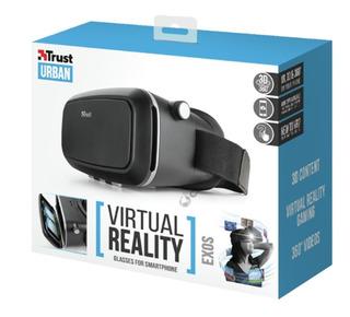 Oculos Realidade Virtual Trust Urban Exos Plus Preto