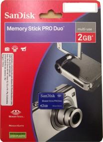Memory Stick Sandisk Pro Duo 2gb