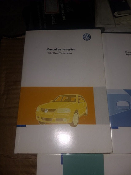Manual Proprietario Volkswagen Gol Parati Saveiro G4 2007