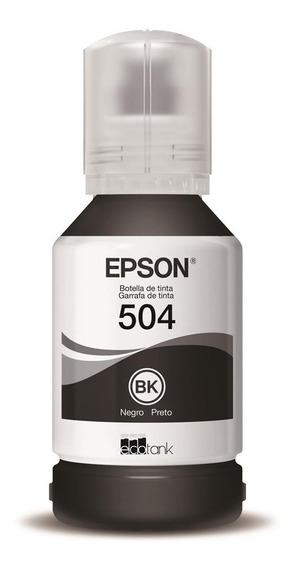 Tinta Original Epson Black T504 L6161 L4150 L4160 L6191