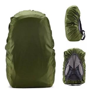 Funda Cobertor Anti Lluvia Mochila Mochilero Treking Camping