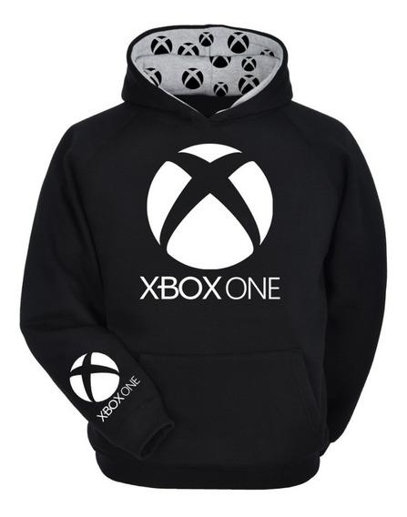 Moletom Blusa De Frio X Box One Xbox -com Acabamento-