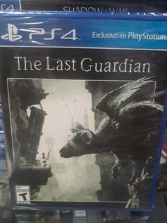 The Last Guardian Ps4 Nuevo Sellado Fisico