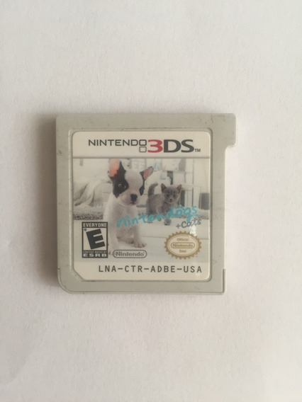 Nintendo Dogs + Cats 3ds