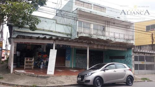 Imagem 1 de 30 de Prédio À Venda, 550 M² Por R$ 1.484.000,00 - Vila Rosa - São Bernardo Do Campo/sp - Pr0008