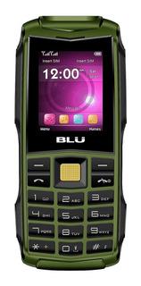 Celular Básico Uso Rudo Blu Flash 2.4 Libre Dual Sim