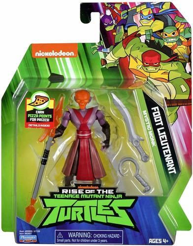 Imagem 1 de 5 de Tartarugas Ninja Figuras De Ação - Foot Lieutenant  - Sunny