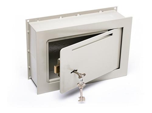 Caja Fuerte 20x30x9 Embutir Buzon Pared Fina Amurar E2 C/b