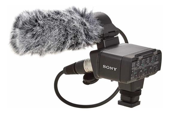 Kit Adaptador Sony Xlr-k2m Com Microfone
