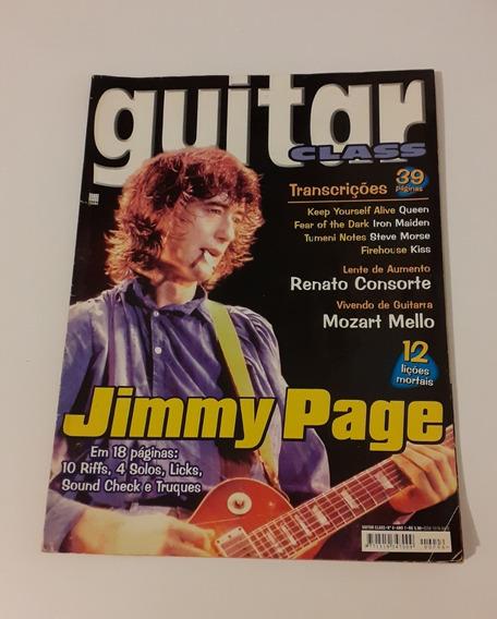 Revista Guitar Class 6 Jimmy Page Kiss Iron Maiden