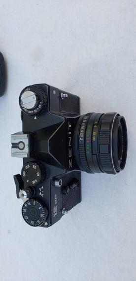 Câmera Fotográfica Analógica Zenit 12xp Made In Ussr(russia)