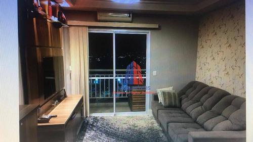 Apartamento Com 2 Dormitórios À Venda, 69 M² Por R$ 350.000 - Residencial Clube Colorê - Vila Belvedere - Americana/sp - Ap1063