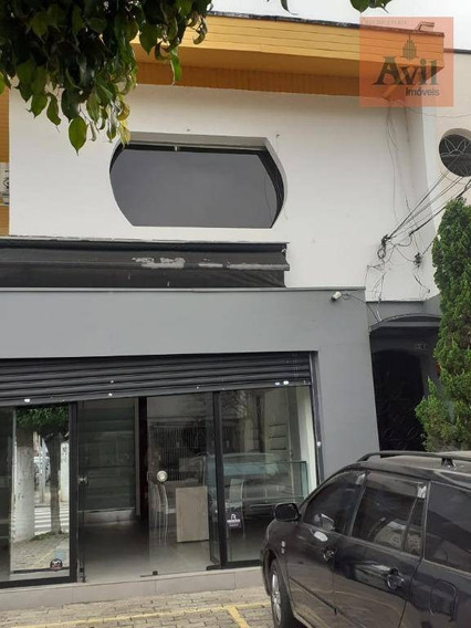 Salão Para Alugar, 76 M² Por R$ 6.500,00/mês - Vila Gomes Cardim - São Paulo/sp - Sl0096