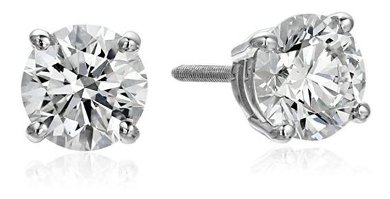 Aretes Diamante 1.5 Quilates Certificado Igi Calidad Tiffany