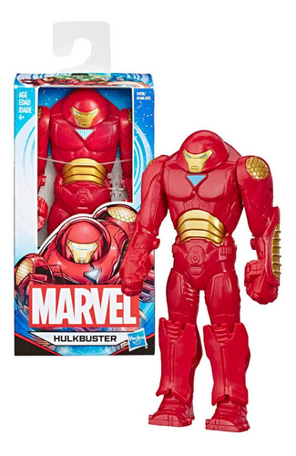 Figuras De Accion Avengers 6 Hulkbuster  Hasbro