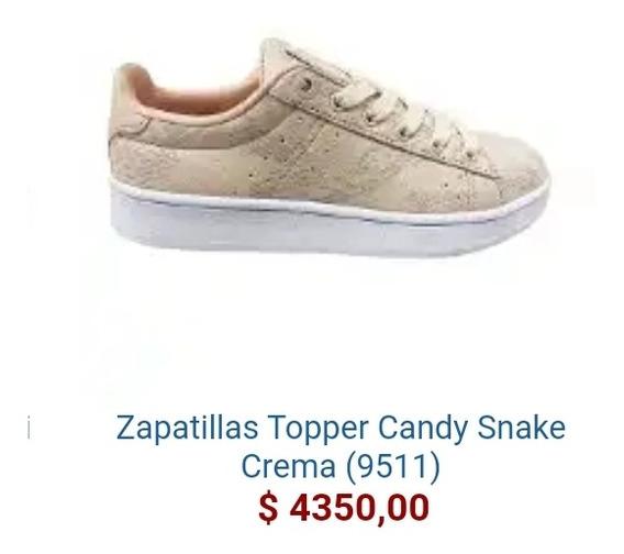 Zapatilla Topper Candy Snake Damas
