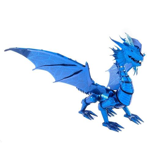 Rompecabezas 3d Dragón Azul Fascinations Tamaño Premium