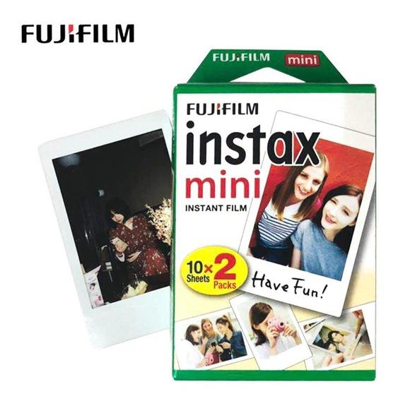 Filme Instax Fujifilm Pack - 20 Fotos