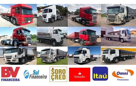 Financiamento Sem Entrada Para Caminhões, Vans E Ônibus