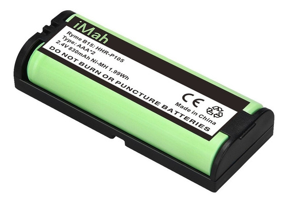 Bateria Hhr-p105 P105 2.4v 830mah Ni-mh Tipo 31 - Ofertaaaa