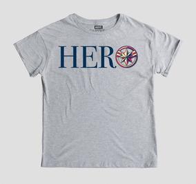 Playera Mujer Hero Máscara De Látex Marvel