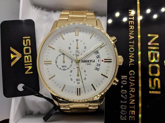 Relógio Nibosi Masculino Funcional