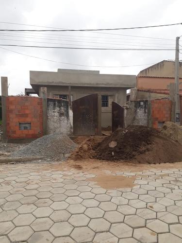 Casa Nova Geminada 800 Metros Do Mar Em Itanhaém - 0039-cs