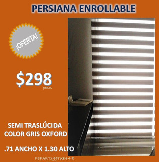 Promocion Persiana Enrollable $298 Pesos Pepart399tub44-8