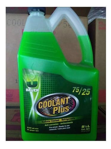 Refrigerante Coolant Plus 75/25 Para Motores A Gasolina