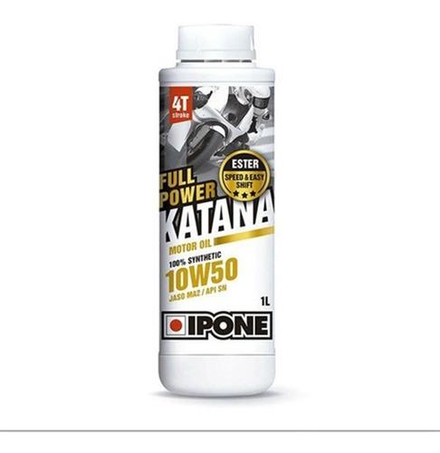Aceite Sintético Moto Ipone Power Katana 10w50 Devotobikes