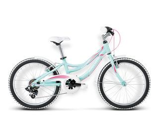 Bicicleta Kross Nelly 20 Verde Menta/rosado