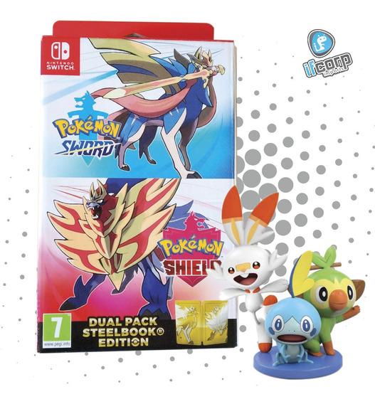 Pokemon Sword And Shield Dual Pack Edicion Europea Grookey