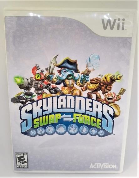 Skylanders Swap Force Original Nintendo Wii Cr $15