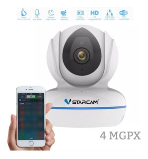 Camara Ip 4megapixeles Vstarcam C22q Micro Sd 128gb 2k