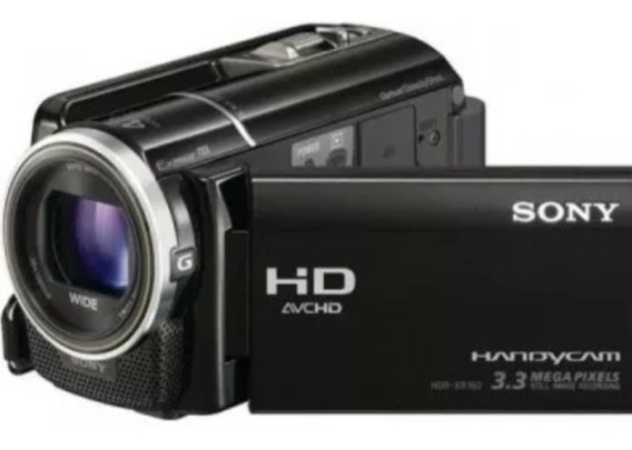 Filmadora Sony Hdr-xr160 Full Hd 160gb Lcd 3,0 Touch Screen