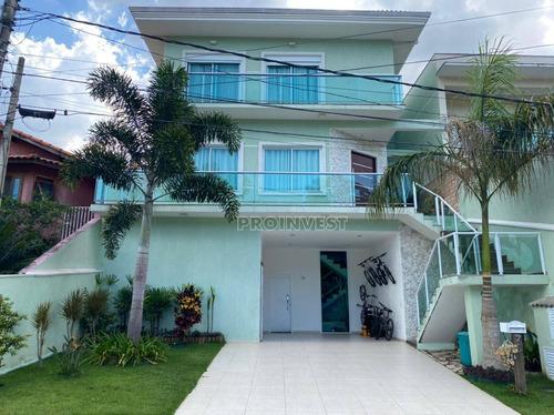 Maravilhosa Casa No Condomínio Pq Das Rosas, Cotia. Venha Conhecer! (11)4617-8699 Ref Ca18572. - Ca18572
