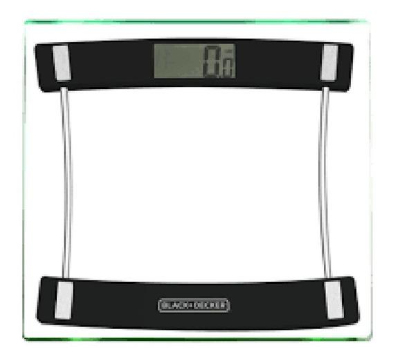 Balança Digital Banheiro Academia 180kg Black Decker Bk35
